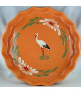 Tourtière 30 cm - Mandarine cigogne