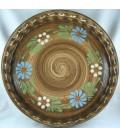 Tourtière 28 cm - Faux bois fleur
