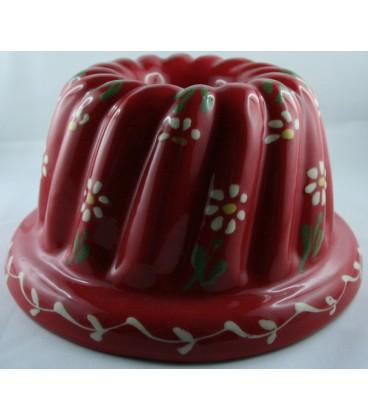 Kougelhopf pour 8 à 10 personnes - Rouge fleur